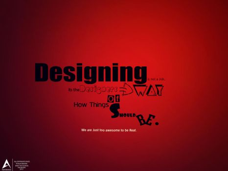 Designing in not a job By Alex Designs by abdomaher
