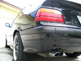 BMW E36 Rear by novax2c