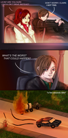 :COLLAB: Leon's Driving by Roselinath