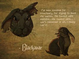 Watership Down - Blackavar by LadyFiszi