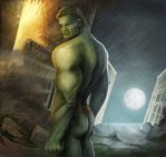 Hulk, my vision by sillver-lady