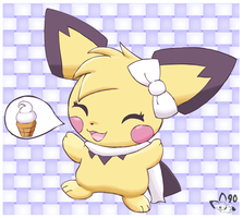 She would like ice cream by pichu90