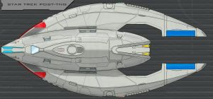 Star Trek Post-TNG Ship Finished by AdamKop