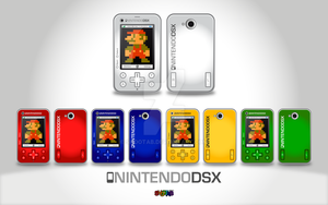 Nintendo DSX Phone Colors by ShootaB