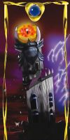 Sauron Tower Card by Lady--knight