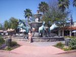 Old Town Scottsdale Fountain by donna-j
