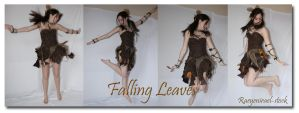 Falling Leaves 'Jump' pack by RaeyenIrael-Stock