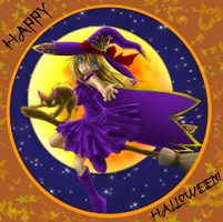 Halloween Night Flight by Sakuyamon