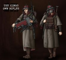 Utharian Factions: Kings Own Rifles by Brett-Neufeld
