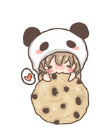 Cookie Addict Chibi! by XmasCandy