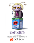 Day 1430. Beetlejuice by Cryptid-Creations