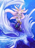 SilverWing(Silver the hedgehog) by betafire9