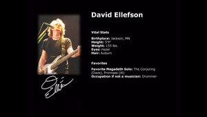 David Ellefson Vital Stats by Daron55
