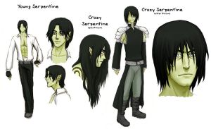 Serpentine's Character Sheet by Iyou