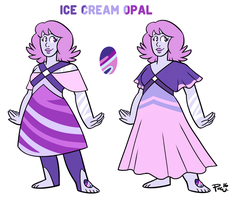 Ice Cream Opal (commission) by bPAVLICA