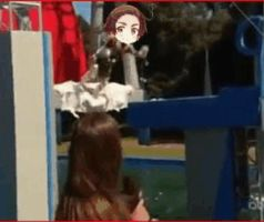 Hetalia - Wipeout: gif - South Korea by SydneyA