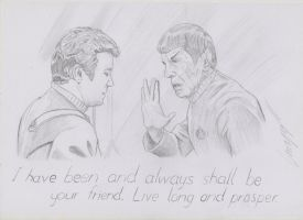 In loving memory of Leonard Nimoy by JustRussianGuy