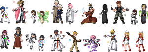 SPRITES by Lime-Tictacs