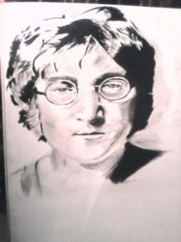 john lennon by Guasonchileno