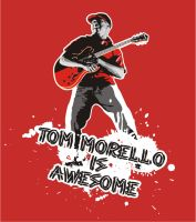 Tom Morello T-Shirt by Huntersky