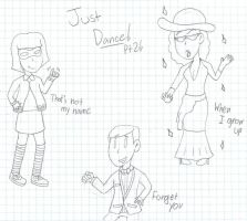 Just Dance doodles Pt 2 by LUVKitty13