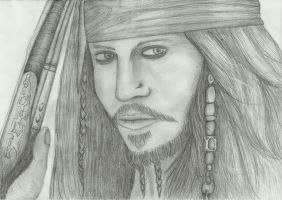 Captain Jack Sparrow by PhoenixQuill666
