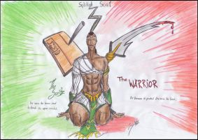 The Warrior...the Scribe by uddelhexe