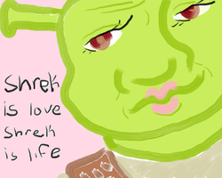 Shrek can be my house wife any day! by MagicRaneboh
