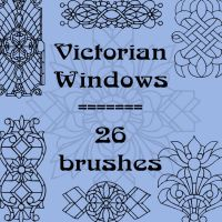 Victorian Windows by rL-Brushes