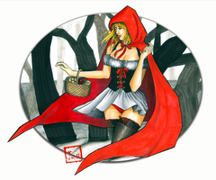 little red riding hood by friskies43