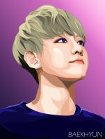 2nd Vector - Baekhyun by misunderstoodpotato