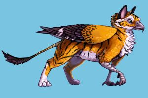 Updated Caly gryph by Calypte