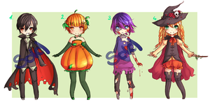Adoptables Set 2 [OPEN] by cytes