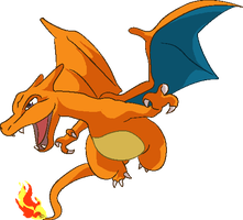 Personnages Libres : 006 Charizard by Mechamyu