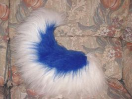 Commish - Blue Husky Tail by NecoStudios