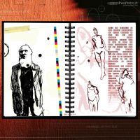 Sketch Works: Book 1 12 ' debussy' by phenoxa