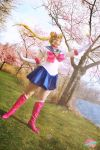Sailor Moon Crystal - Cherry Blossoms by dismaldreary