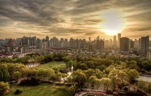 Cityscape: Shanghai by dlwjiang