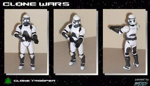 1st Custom Clone Trooper by jaw500
