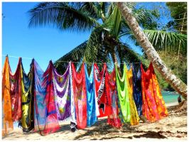 Caribbean colours,,,,,,,,, by burcyna