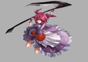 Touhou : Shinigami by ClearEchoes