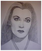 Lily Munster - Sketch by mikegee777