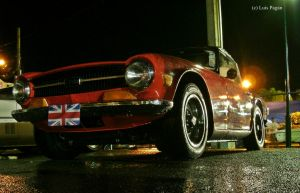 red Triumph TR6 by Mister-Lou