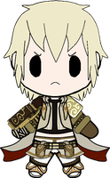Pandora's Tower - Aeron Chibi by Bloody-Uragiri