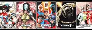 More Dynamo 5 Sketch Cards by ChrisMcJunkin
