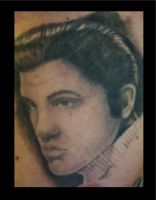 Elvis lives by chrisxart