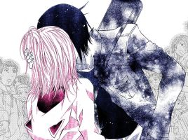 amu. ikuto. colored kiss. by Damned-If-You-Do