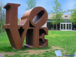 Love sculpture by Lasercrew420