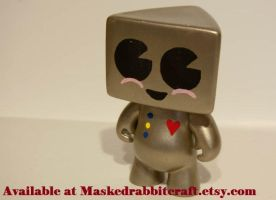 Old Timey HeartBot by maskedrabbitcrafts