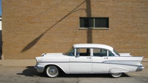 The 57 Bel Air by leleva